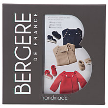 Buy Bergere De France Baby Cardigan and Boot Knit Kit, 43122 Online at johnlewis.com