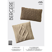 Buy Bergere De France Magic+ Cushions Knitting Pattern, 42848 Online at johnlewis.com