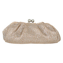 Buy Oasis Clarissa Bobble Clutch Bag, Multi Gold Online at johnlewis.com