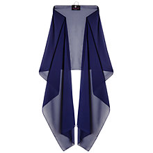 Buy Ariella Dina Stole, Navy Online at johnlewis.com