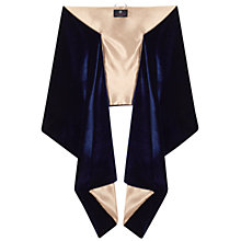 Buy Ariella Liv Satin Stole, Navy/Nude Online at johnlewis.com