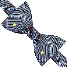 Buy Reiss Thomson Self Tie Check Bow Tie, Blue/Pink Online at johnlewis.com