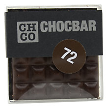 Buy The Chocolate Company, Chocbar Dark, 72% Online at johnlewis.com