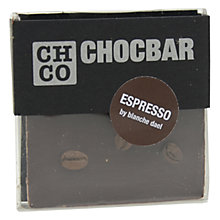 Buy The Chocolate Company, Chocbar Dark Espresso, 60g Online at johnlewis.com
