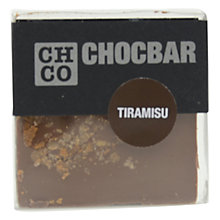 Buy The Chocolate Company, Chocbar Milk Tiramisu Online at johnlewis.com