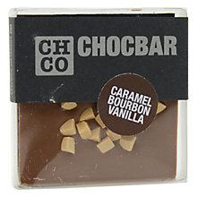 Buy The Chocolate Company, Chocbar Milk Caramel Bourbon Online at johnlewis.com