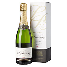 Buy Lyme Bay Brut Reserve Sparkling Wine, 75cl, 2013 Online at johnlewis.com