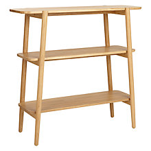 Buy John Lewis Roka Low Shelf Unit Online at johnlewis.com