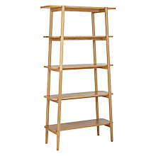 Buy John Lewis Roka Tall Shelf Unit Online at johnlewis.com