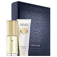 Buy Estée Lauder White Linen Classics Fragrance Gift Set Online at johnlewis.com