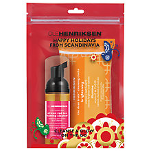 Buy OLEHENRIKSEN Cleanse & Glow On The Go Holiday Kit Online at johnlewis.com