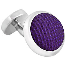 Buy Thomas Pink Watford Woven Button Cufflinks Online at johnlewis.com