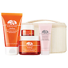 Buy Origins 'Let Us Glow' Skincare Gift Set Online at johnlewis.com