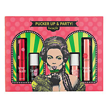 Buy Benefit Pucker Up And Party Makeup Gift Set Online at johnlewis.com