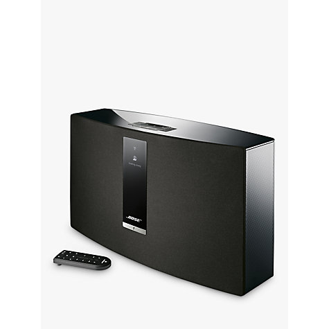 buy bose soundtouch 30 series iii wireless wi fi bluetooth music system john lewis. Black Bedroom Furniture Sets. Home Design Ideas