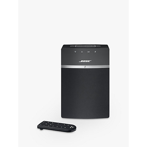 buy bose soundtouch 10 wireless wi fi bluetooth music system john lewis. Black Bedroom Furniture Sets. Home Design Ideas