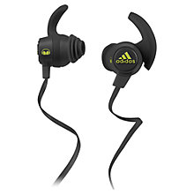 Buy Adidas Response Canal Sports Headphones with In-Line Microphone Online at johnlewis.com