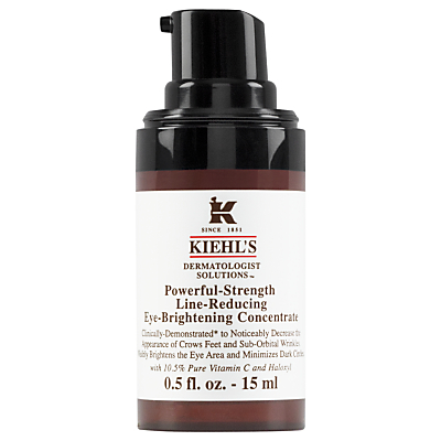 shop for Kiehl's Powerful-Strength Line-Reducing Eye-Brightening Concentrate, 15ml at Shopo
