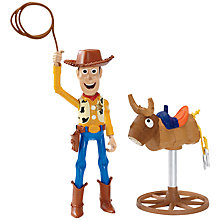 Buy Toy Story Bull Ridin' Woody Figure Online at johnlewis.com