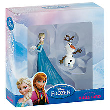 Buy Disney Frozen Elsa and Olaf Figurine Two-Pack Online at johnlewis.com