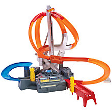 Buy Hot Wheels Spin Storm Track Set Online at johnlewis.com