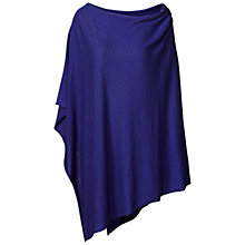 Buy Winser London Cashmere-blend Poncho, Moonlight Light Blue Online at johnlewis.com