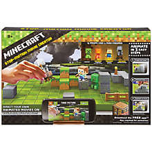 Buy Minecraft Stop-Motion Movie Creator Play Set Online at johnlewis.com