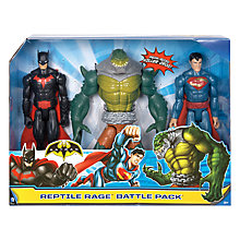 Buy Batman Reptile Rage Battle Pack Online at johnlewis.com