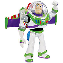 Buy Toy Story Rocket Blast Buzz Lightyear Figure Online at johnlewis.com