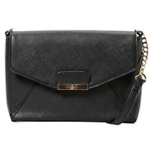 Buy Mango Metal Applique Bag, Black Online at johnlewis.com