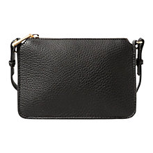 Buy Mango Cross Body Zipped Pebbled Bag Online at johnlewis.com