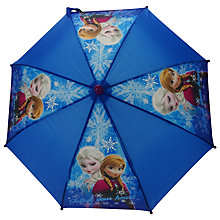 Buy Disney Frozen Umbrella, Blue Online at johnlewis.com