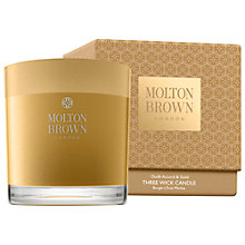 Buy Molton Brown Mesmerising Oudh Accord & Gold Single Wick Candle, 180g Online at johnlewis.com