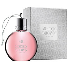 Buy Molton Brown Delicious Rhubarb & Rose Festive Shower Gel, 75ml Online at johnlewis.com