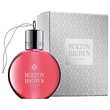 Buy Molton Brown Pink Pepperpod Festive Bauble, 75ml Online at johnlewis.com