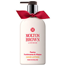Buy Molton Brown Festive Frankincense & Allspice Fine Liquid Hand Lotion, 300ml Online at johnlewis.com