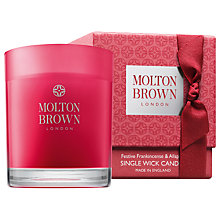 Buy Molton Brown Festive Frankincense Candle Online at johnlewis.com