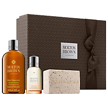 Buy Molton Brown Re-Charge Black Pepper Men's Fragrance Gift Set Online at johnlewis.com