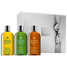 Buy Molton Brown Signature Washes Gift Set for Him, 300ml Online at johnlewis.com