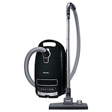 Buy Miele Complete C3 PowerLine New Cylinder Vacuum Cleaner, Black Online at johnlewis.com