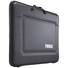 "Buy Thule Gauntlet 3.0 15"" MacBook Sleeve, Black Online at johnlewis.com"