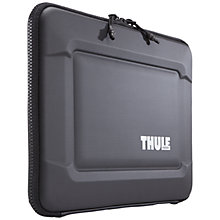 "Buy Thule Gauntlet 3.0 13"" MacBook Sleeve Black Online at johnlewis.com"