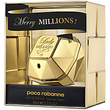 Buy Paco Rabanne Lady Million Collector Eau de Pafum, 80ml Online at johnlewis.com