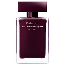 Buy Narciso Rodriguez L'absolu Eau de Parfum, 50ml Online at johnlewis.com
