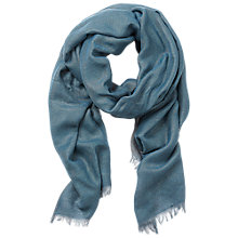 Buy Betty Barclay Two Tone Scarf, Blue/Grey Online at johnlewis.com