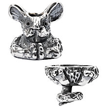 Buy Trollbeads Sterling Silver Fantasy Mouse Pendant Online at johnlewis.com