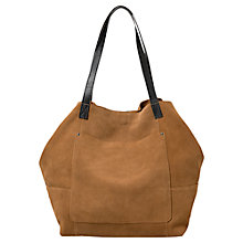 Buy Mango Suede Shopper Bag Online at johnlewis.com