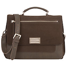 Buy French Connection Erica Satchel, Olive Online at johnlewis.com
