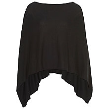 Buy Betty Barclay Knitted Poncho, Black Online at johnlewis.com