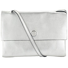 Buy Kin by John Lewis Lene Crossbody Bag, Silver Online at johnlewis.com